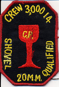 Crew Patch, 20mm Shovel Qual.
