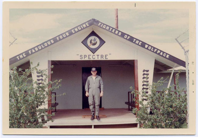 Ubon - TSgt Bill Cotton - Squadron Headquarters